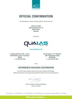 Certificado de partner con ACI